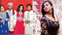 मां, भाई और पिता के साथ अर्शी खान भोपाल में...