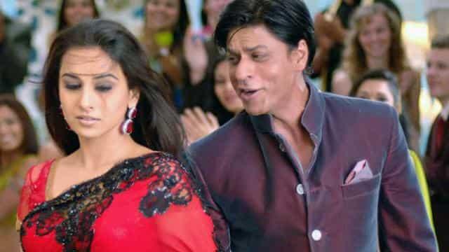 vidya with shahrukh