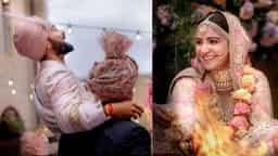पारंपरिक तरीके से पूरी हुई विराट-अनुष्का की शादी