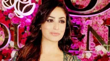 Bollywood actress at a event