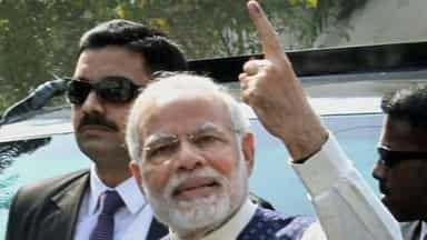Gujarat elections pm modi vote