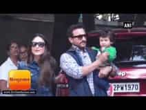 Taimur Ali Khan steals the show at Kapoor\'s annual Christmas Party