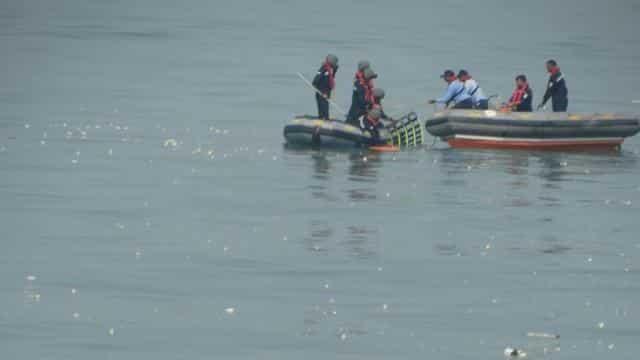 chopper crash off Mumbai coast