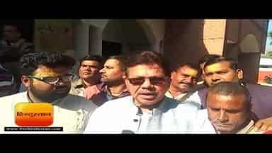 तीर्थ पुरोहित सरकार के इस फैसले के विरोध में उतरे II Protests against the acquisition of temple