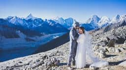 mount everest wedding
