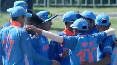 U-19: भारत ने जिम्बाब्वे को 10 विकेट से रौंदा