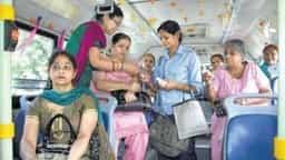 women bus conductor