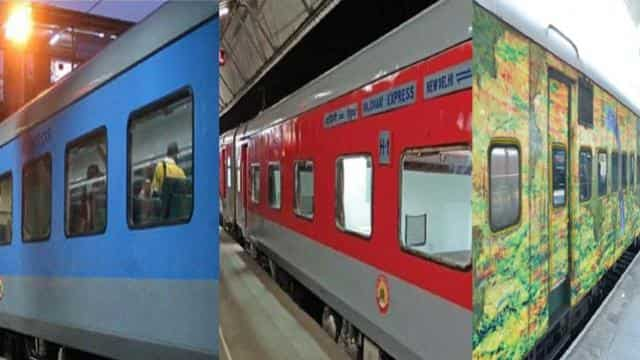 Coaches of Shatabdi, Rajdhani & Duronto trains will soon have four CCTV cameras