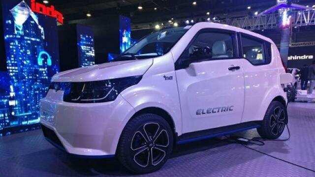 ऑटो एक्सपो 2018, महिन्द्रा की इलेक्ट्रिक हैचबैक ई2ओ