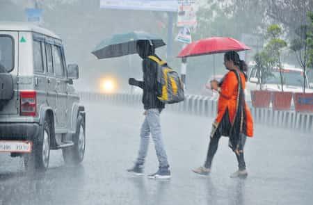 रांची में बारिश ने बदला मौसम का मिजाज