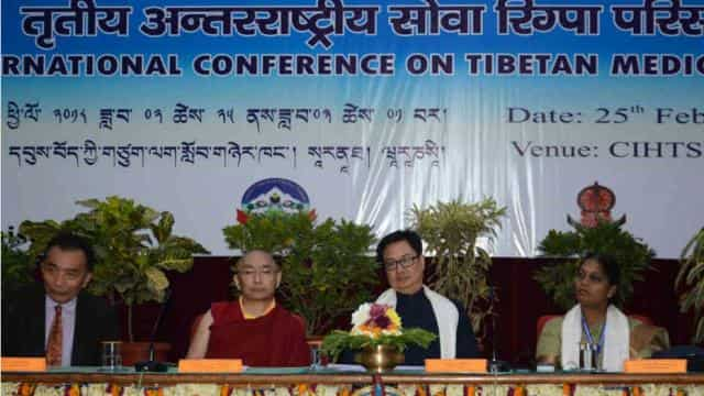 सारनाथ तिब्बती संस्थान में आयोजित कार्यक्रम में पहुंचे गृह राज्यमंत्री