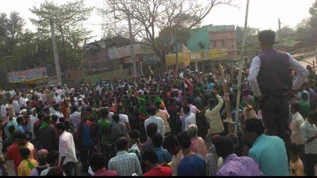 After voting trend in Araria lok sabha by election RJD supporters celebrated