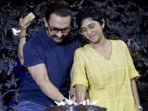 Aamir Khan celebrates birthday with wife Kiran Rao