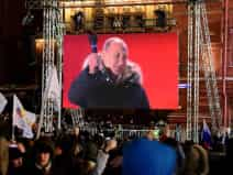 Putin victory in Russian presidential election