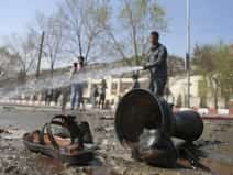 At least 26 killed in suicide bomb near Shia shrine in Kabul