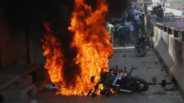 भारत बंद हिंसा