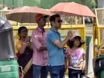rise in temperature to 38 degree Celsius in delhi