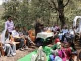 विधायक ने चौपाल लगाकर सुनी ग्रामीणों की समस्याएं
