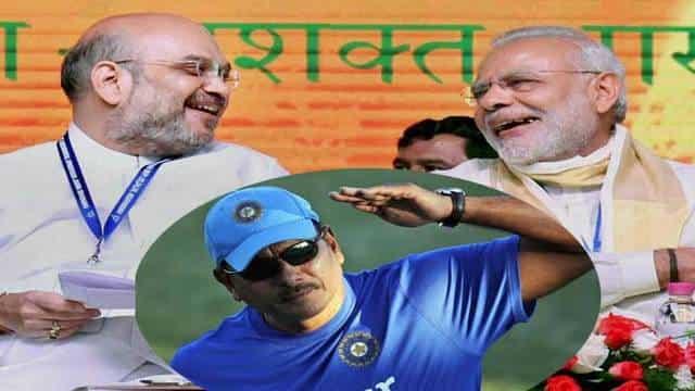 जब ट्विटर पर PM मोदी ने रवि शास्त्री को दिया कमेंट्री स्टाइल में जवाब