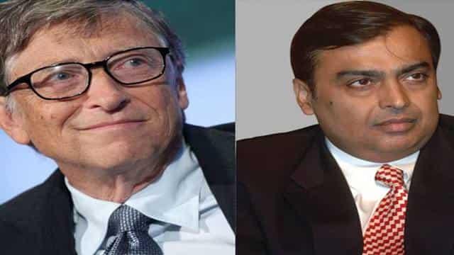 बिल गेट्स लगातार चौथे साल सबसे अमीर, भारतीयों में अंबानी टॉप पर